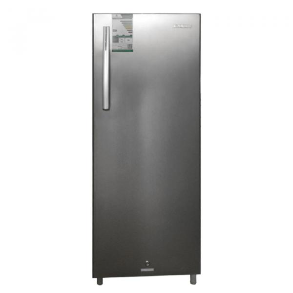Hyundai refrigerator one door 181 liters - Steel