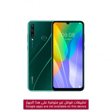 HUAWEI Y6P 64GB DS 4G  ARABIC EMERALD GREEN