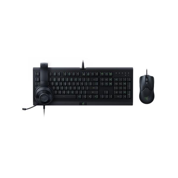 Razer Power Up Bundle (Headset + Gaming Keyboard + Gaming Mouse)