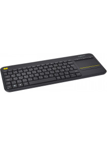 Logitech K400 Plus Wireless Arabic Keyboard - Black