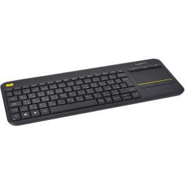 Logitech K400 Plus Wireless Arabic Keyboard - Black